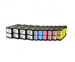 10 Cartouches Compatibles, Canon PGI-1500 Noir 36ml + Couleur 11.5ml