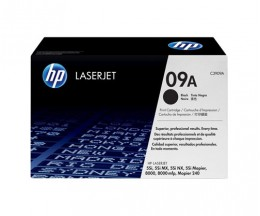 Toner Original HP 09A Noir ~ 15.000 Pages