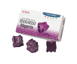 3 ColorSticks Originales, Xerox 108R00670 Magenta ~ 3.000 Pages