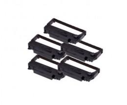 5 Ruban Compatibles, Epson ERC-38BK Noir