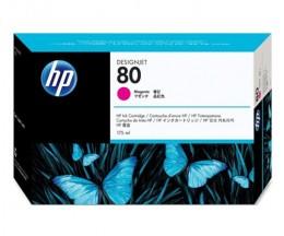 Cabeça de impressão Original HP 80 Magenta e dispositivo de limpeza