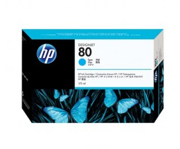 Cartouche Original HP 80 Cyan 175ml ~ 2.200 Pages