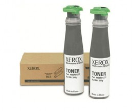 2 Toners Originales, Xerox 106R01277 Noir ~ 6.300 Pages