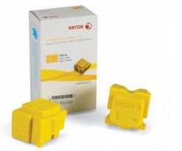 2 Toners Originales, Xerox 108R00933 Jaune ~ 4.400 Pages