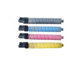 4 Toners Compatibles, Ricoh 88864X Noir + Couleur ~ 20.000 / 15.000 Pages