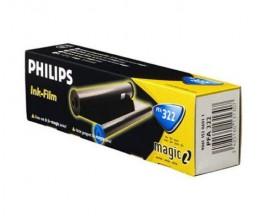 Rouleau Transfert Thermique Original Philips PFA322 Noir ~ 150 Pages