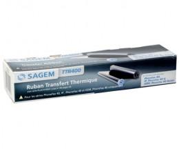 Rouleau Transfert Thermique Original Sagem TTR400 Noir ~ 140 Pages