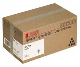Toner Original Ricoh 888009 Noir ~ 53.000 Pages