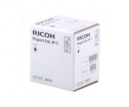 5 Cartouches Originales, Ricoh 893713 Noir 500ml