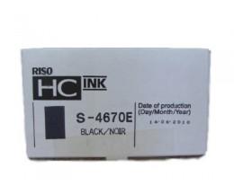 Cartouche Original Riso S4670E Noir 1000ml
