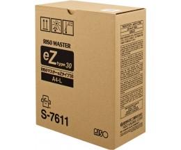 Cartouche Original Riso S7611 Master DIN A4