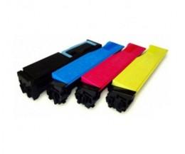 4 Toners Compatibles, Utax 3521 Noir + Couleur ~ 5.000 / 4.000 Pages