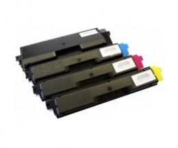 4 Toners Compatibles, Utax 3721 Noir + Couleur ~ 3.500 / 2.800 Pages