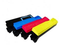 4 Toners Compatibles, Kyocera TK 570 Noir + Couleur ~ 16.000 / 12.000 Pages