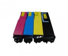 4 Toners Compatibles, Kyocera TK 550 Noir + Couleur ~ 7.000 / 6.000 Pages