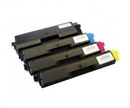 4 Toners Compatibles, Kyocera TK 590 Noir + Couleur ~ 7.000 / 5.000 Pages