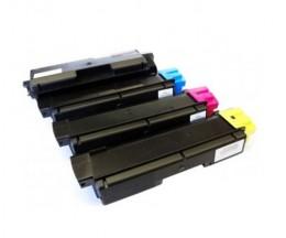 4 Toners Compatibles, Kyocera TK 580 Noir + Couleur ~ 4.000 / 3.000 Pages