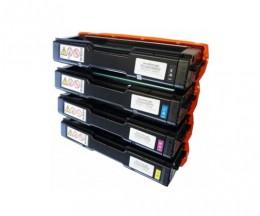 4 Toners Compatibles, Kyocera TK 150 Noir + Couleur ~ 6.000 Pages