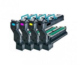 4 Toners Compatibles, Konica Minolta 4539X32 Noir + Couleur ~ 6.000 Pages