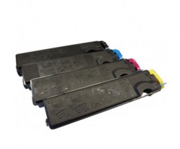 4 Toners Compatibles, Kyocera TK 500 Noir + Couleur ~ 8.000 Pages