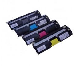 4 Toners Compatibles, Konica Minolta A00WX32 Noir + Couleur ~ 4.500 Pages