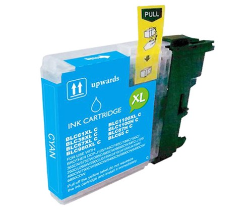 Cartouche Compatible Brother LC-985 XL C Cyan 18ml