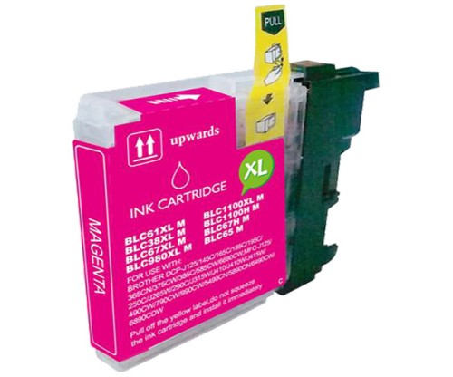 Cartouche Compatible Brother LC-985 XL M Magenta 18ml