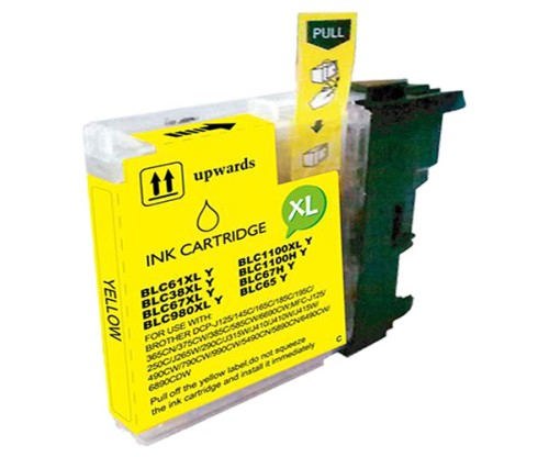 Cartouche Compatible Brother LC-985 XL Y Jaune 18ml