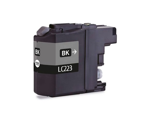 Cartouche Compatible Brother LC-221 BK / LC-223 BK Noir 16.6ml