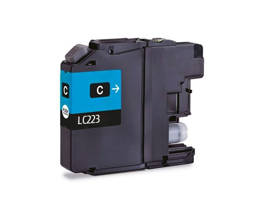 Cartouche Compatible Brother LC-221 C / LC-223 C Cyan 9ml