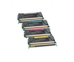 4 Toners Compatibles, Lexmark C746 Noir + Couleur ~ 12.000 / 7.000 Pages