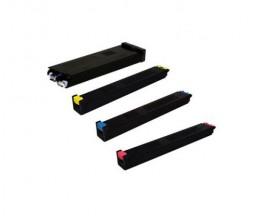 4 Toners Compatibles, Sharp MX51 Noir + Couleur ~ 40.000 / 18.000 Pages