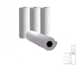 4 Rouleaux de papier thermique 110x40x11mm