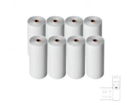 8 Rouleaux de papier thermique 80x45x12mm