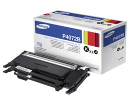2 Toners Originales, Samsung P4072B Noir ~ 1.500 Pages