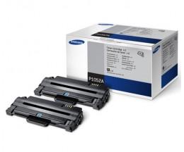 2 Toners Originales, Samsung P1052A Noir ~ 2.500 Pages