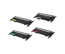 4 Toners Compatibles, Samsung 404S Noir + Couleur ~ 1.500 / 1.000 Pages
