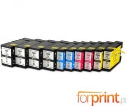 10 Cartouches Compatibles Canon PGI-1500 Noir 36ml + Couleur 11.5ml