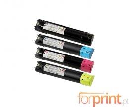 4 Toners Compatibles, DELL 593BBCB-593BBCX Noir + Couleur ~ 18.000 / 12.000 Pages