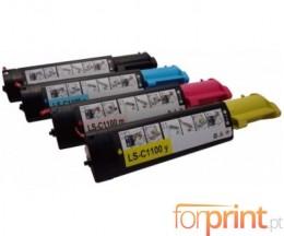 4 Toners Compatibles, DELL 5931015X Noir + Couleur ~ 2.000 Pages