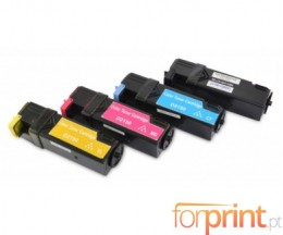 4 Toners Compatibles, DELL 5931103X Noir + Couleur ~ 3.000 / 2.500 Pages