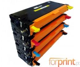 4 Toners Compatibles, DELL 5931017X Noir + Couleur ~ 8.000 Pages