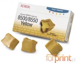 3 ColorSticks Originales, Xerox 108R00671 Jaune ~ 3.000 Pages