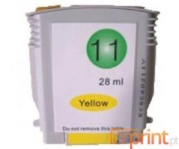 Cartouche Compatible HP 11 Jaune 28ml