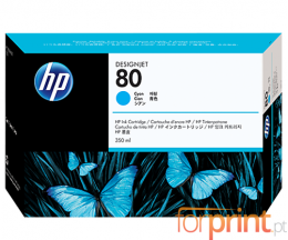 Cartouche Original HP 80 Cyan 350ml ~ 4.400 Pages