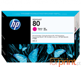 Cartouche Original HP 80 Magenta 350ml ~ 4.400 Pages