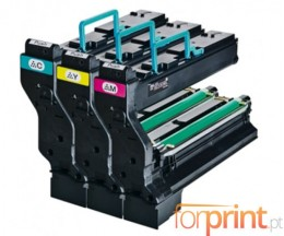 3 Toners Originales, Konica Minolta 1710594001 Couleur ~ 6.000 Pages