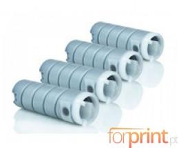 4 Toners Compatibles, Konica Minolta 8932614 Noir ~ 18.500 Pages