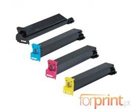 4 Toners Compatibles, Konica Minolta 893870X Noir + Couleur ~ 20.000 / 12.000 Pages