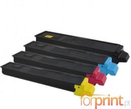 4 Toners Compatibles, Kyocera TK 895 Noir + Couleur ~ 12.000 / 6.000 Pages